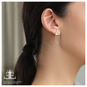 گوشواره سرخپوستی - الی گلد گالری
