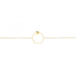 دستبند آدرین و پروانه - الی گلد گالری