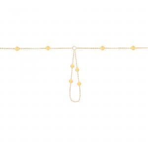 دستبند عربی گوی - الی گلد گالری