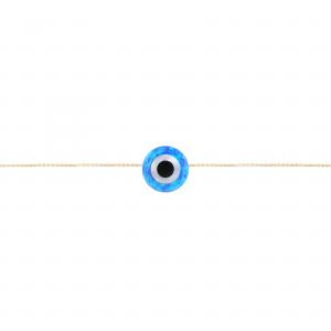 دستبند چشم نظر و اوپال - الی گلد گالری