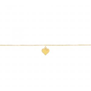 دستبند قلب برجسته - الی گلد گالری