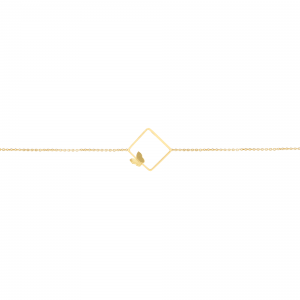 دستبند آرین و پروانه - الی گلد گالری