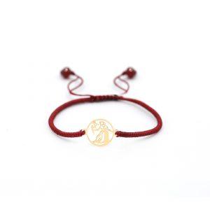 دستبند بافت ساین شهریور - الی گلد گالری
