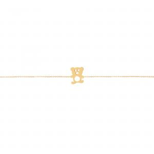 دستبند خرس - الی گلد گالری