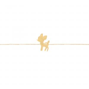 دستبند بامبی بچه گانه - الی گلد گالری