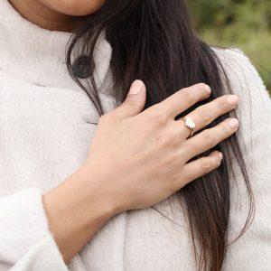 انگشتر قلب 1 - الی گلد گالری