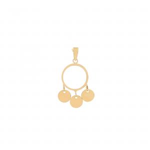 آویز آرن سکه ای کوچک - الی گلد گالری