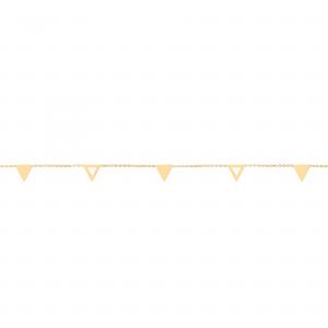 دستبند مثلث ترکیبی - الی گلد گالری