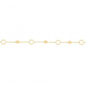 دستبند آدرین پر و خالی - الی گلد گالری