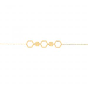 دستبند آدرین پر و خالی پیوسته - الی گلد گالری