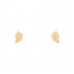 گوشواره برگ ظریف - الی گلد گالری
