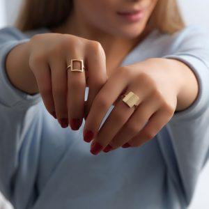 انگشتر آرین جدید، انگشتر آرین تو پر - الی گلد گالری