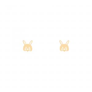 گوشواره خرگوش بچه گانه 2 - الی گلد گالری
