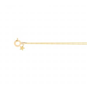 دستبند کارتیه ظریف و ستاره دریایی 2 - الی گلد گالری
