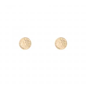 گوشواره سکه چکشی - الی گلد گالری