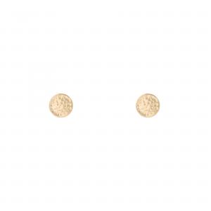 گوشواره سکه چکشی کوچک - الی گلد گالری