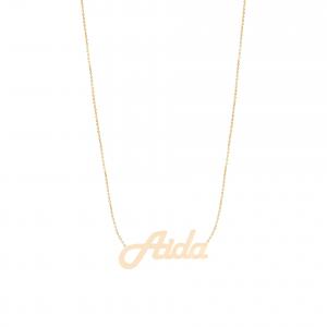 گردنبند اسم آیدا (Aida) - الی گلد گالری